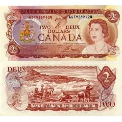 اسکناس 2 دلار - کانادا 1974