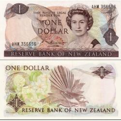 اسکناس 1 دلار -  نیوزلند 1985