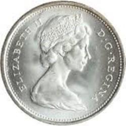 سکه 5 سنت - نیکل - کانادا 1986 غیر بانکی