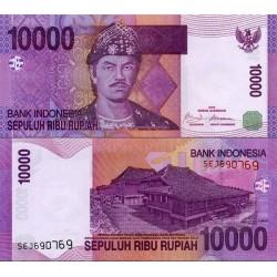 اسکناس 10000 روپیه - اندونزی 2009