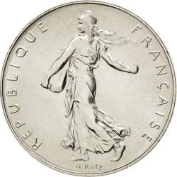 سکه 1 فرانک - نیکل - فرانسه 1960غیر بانکی