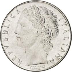 سکه 100 لیر - Acmonital- ایتالیا 1972غیر بانکی