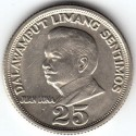 سکه 25 سنتیموس -  مس نیکل روی - فیلیپین 1967غیر بانکی