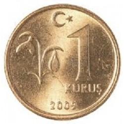 سکه 1 کروز - برنج - ترکیه 2009 غیر بانکی