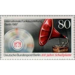 1 عدد تمبر نمایشگاه بین المللی رادیو - برلین آلمان 1987