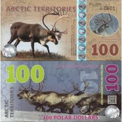 اسکناس پلیمر 100 دلار - قطب شمال 2017