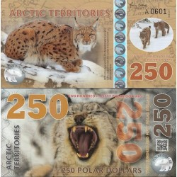 اسکناس پلیمر250 دلار - قطب شمال 2017