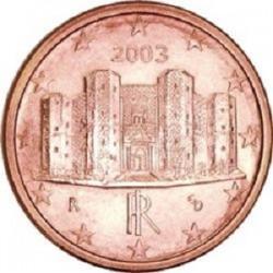 سکه 1 سنت یورو - مس روکش فولاد - ایتالیا 2010 غیر بانکی
