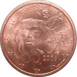 سکه 1 سنت یورو - مس روکش فولاد -فرانسه 2015 غیر بانکی