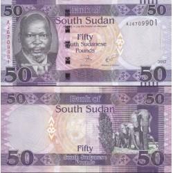 اسکناس 50 پوند - سودان جنوبی 2017