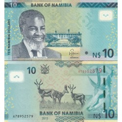 اسکناس 10 دلار - نامیبیا 2015