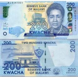 اسکناس 200 کواچا - مالاوی 2016