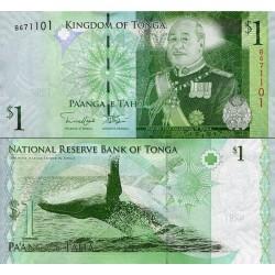 اسکناس 1 پانگا - پادشاهی تونگا 2009