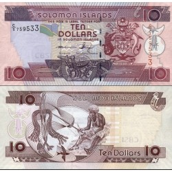 اسکناس 10 دلار - جزایر سلیمان 2009