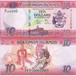 اسکناس 10 دلار - جزایر سلیمان 2017