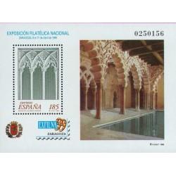 سونیرشیت نمایشگاه ملی تمبر اگزفیلنا - زاراگوزا  - اسپانیا 1999