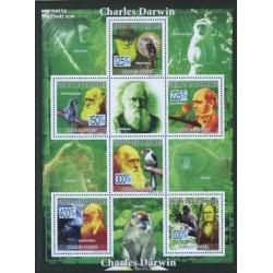 مینی شیت 200مین سالگرد تولد چارلز داروین - کومور 2009 قیمت 9 یورو