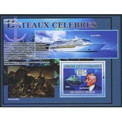 سونیر شیت کشتیهای معروف - کومور 2009 قیمت 12 یورو