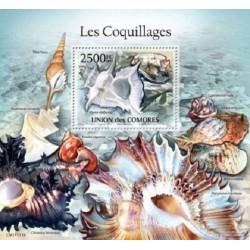 مینی شیت حیات دریائی - صدفها - 2 - کومور 2011 قیمت 14 دلار
