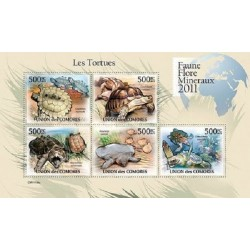 مینی شیت لاکپشتها - 1 - کومور 2011 قیمت 11.64 دلار