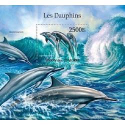 مینی شیت پستانداران - دبفینها - 2 - کومور 2011 قیمت 14 دلار