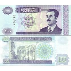 اسکناس 100 دینار - عراق 2002