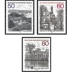 3 عدد تمبر مناظر برلین - برلین آلمان 1982 قیمت 3.8 دلار