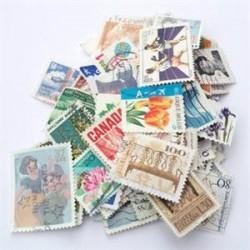 75 عدد تمبرهای خارجی - مهرخورده - بسته شماره یک