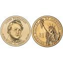 سکه 1 دلار یادبود جیمز بیوکنن -15مین رئیس جمهوری - آمریکا 2010