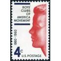 1 عدد تمبر کلوپ پسران جنبش آمریکا - آمریکا 1960