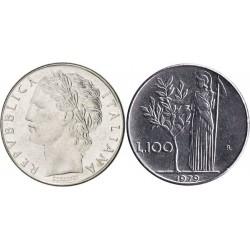سکه 100 لیر - Acmonital - ایتالیا 1976 غیر بانکی