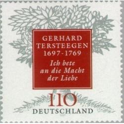 1 عدد تمبر 300مین سال تولد گرهارد ترستیجن نویسنده مذهبی اصلاح طلب - جمهوری فدرال آلمان 1997