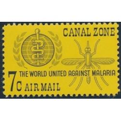 1 عدد تمبر  ریشه کنی مالاریا -  پاناما 1962 - ناحیه کانال 1962
