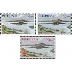 3 عدد تمبر ریشه کنی مالاریا  - فیلیپین 1962