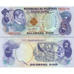 اسکناس 2 پیزو - فیلیپین 1978 سریال قرمز