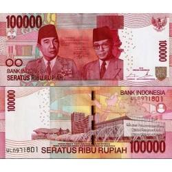 اسکناس 100000 روپیه  - اندونزی 2014