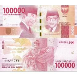 اسکناس 100000 روپیه  - اندونزی 2016