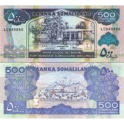 اسکناس 500 شلینگ - سومالی لند 2011