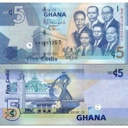 اسکناس 5 سدی - غنا 2015
