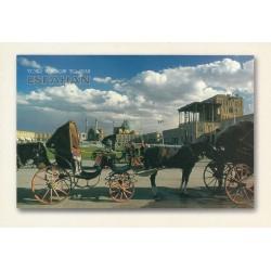 کارت پستال - ایرانی- چشم انداز ایران - میدان نقش جهان اصفهان