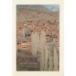 کارت پستال - ایرانی- چشم انداز ایران - اصفهان