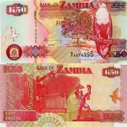 اسکناس 50 کواچا زامبیا 2009 تک