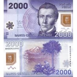 اسکناس پلیمر 2000 اسکودو - شیلی 2013