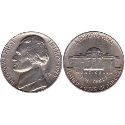 سکه 5 سنت - نیکل مس - آمریکا 1979 غیر بانکی