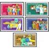 5 عدد تمبر امنیت ترافیک - جمهوری دموکراتیک آلمان 1975