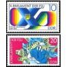2 عدد تمبر پارلمان جوانان - جمهوری دموکراتیک آلمان 1976