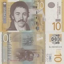 اسکناس 10 دینار صربستان 2006 تک