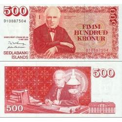 اسکناس 500 کرون - ایسلند 1994