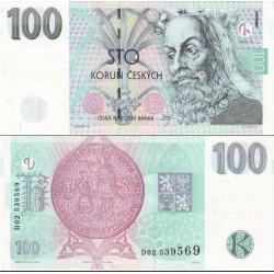 اسکناس 100 کرون - جمهوری چک 1997
