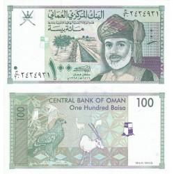 اسکناس 100 بیسا عمان 1995 تک